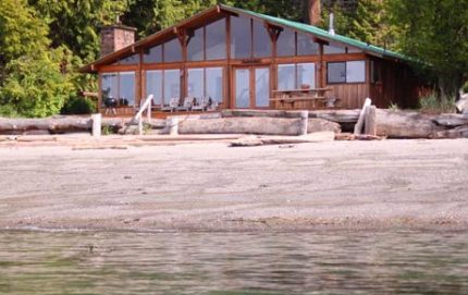 BeachcomberCabinFromWater 460x309