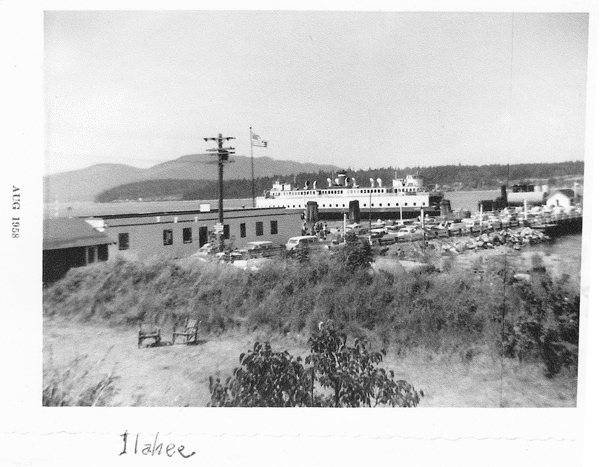 old site adeline 1958 ferry